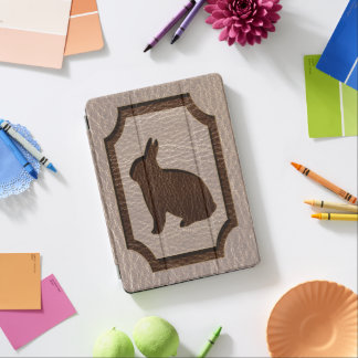 Leather-Look Rabbit Soft iPad Pro Cover