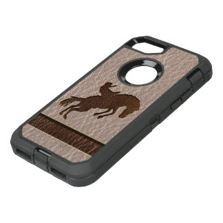Leather-Look Rodeo Soft OtterBox Defender iPhone 7 Case