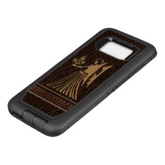 Leather-Look Virgo OtterBox Defender Samsung Galaxy S8 Case
