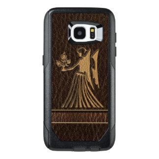 Leather-Look Virgo OtterBox Samsung Galaxy S7 Edge Case