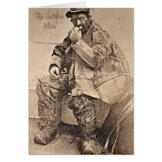 Leather Man Greeting Card
