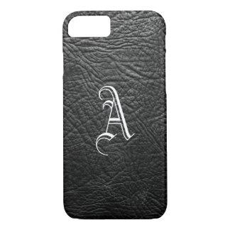 Leather Monogram iPhone 7 Case