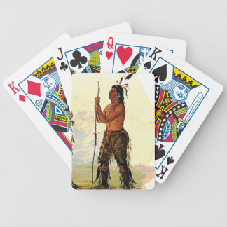Leather pants Indian Bicycle Playing Cards