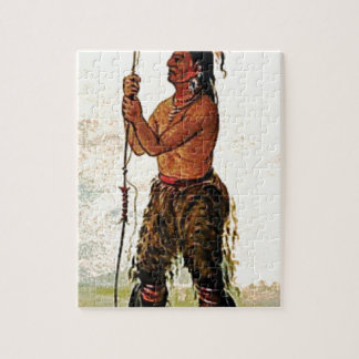 Leather pants Indian Jigsaw Puzzle