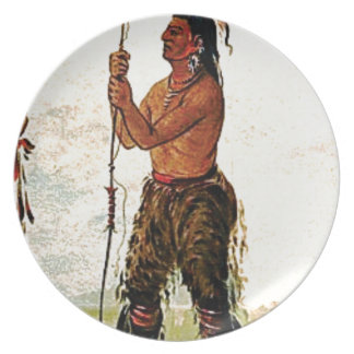 Leather pants Indian Plate