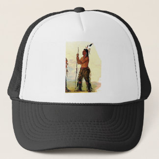 Leather pants Indian Trucker Hat