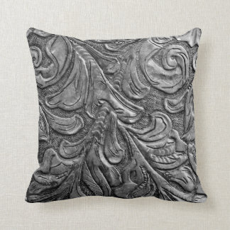 Leather Pattern Western Wedding Pillows