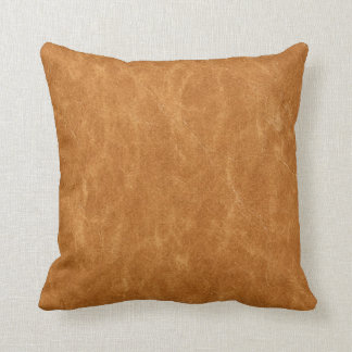 Leather Photograph Background Throw Pillow