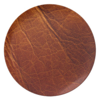 Leather Plate