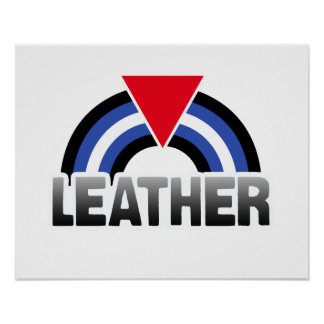 Leather Queer Pride Poster