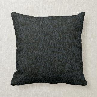 Leather Simulated Dark Decor-Soft Pillows