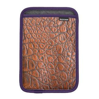 Leather Skin iPad Mini Sleeves