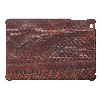 Leather Snake Print iPad Mini Case