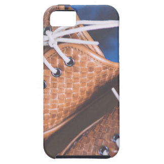 Leather Snakeskin Brown shoes iPhone 5 Covers