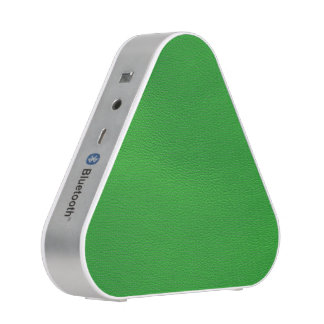 leather structure,green speaker