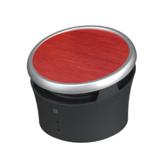 leather structure,red bluetooth speaker