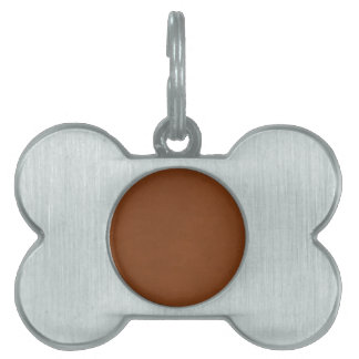 Leather Texture artistic background diy template Pet Tag