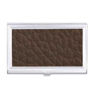 Leather Texture Business Card Holder