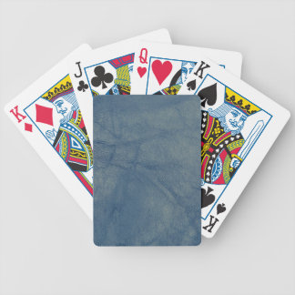 Leather texture closeup bicycle playing cards
