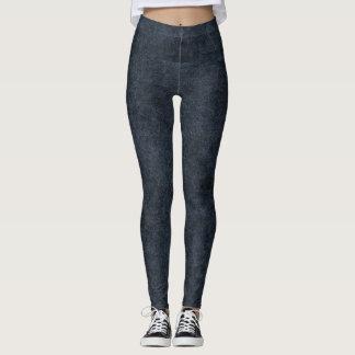 Leather Texture Leggings