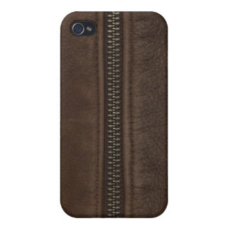 Leather Texture with Zipper Speck Case Case For iPhone 4