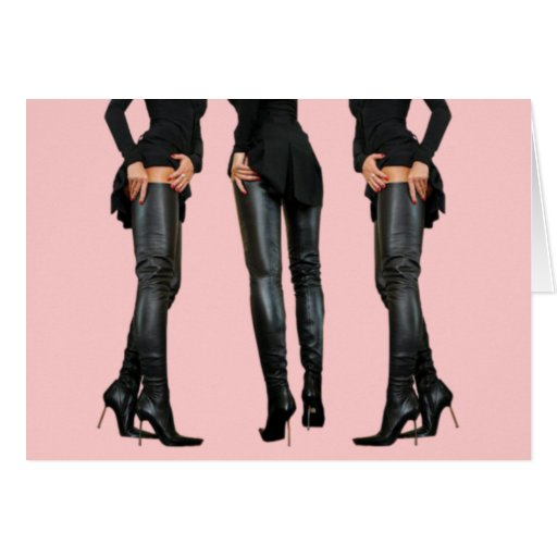 thigh high boot models zazzle