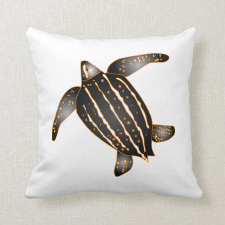 Leatherback Sea Turtle Pillow