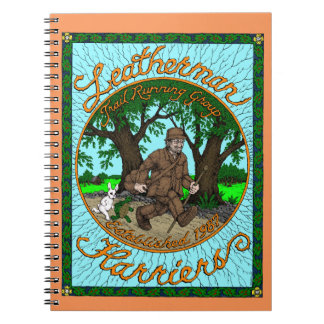 Leatherman Harriers spiral Notebook