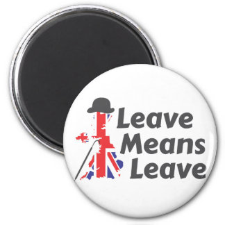 leave 2 inch round magnet