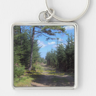 Leave A Trail Keychain