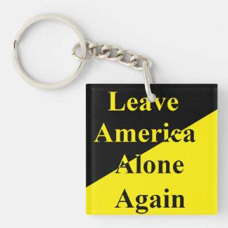 Leave America Alone Again key chain