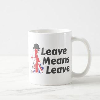 leave coffee mug