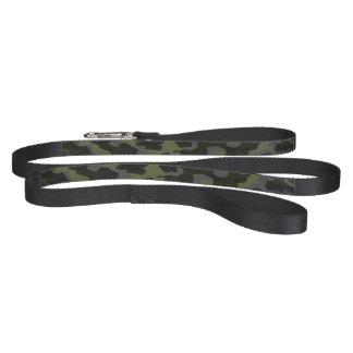 Leave for dog, Noir Camouflage Pet Leash