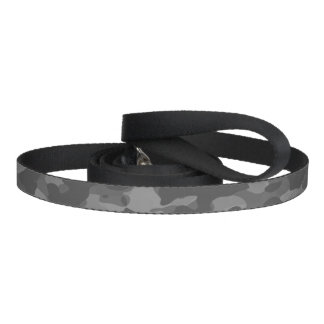 Leave for dog, Noir Gray Camouflage Pet Lead
