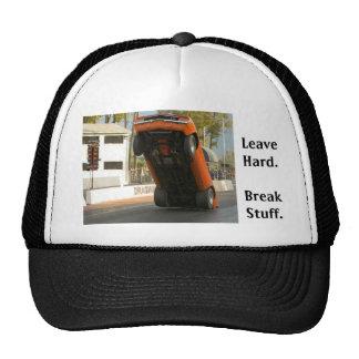 Leave Hard (hat) Trucker Hat