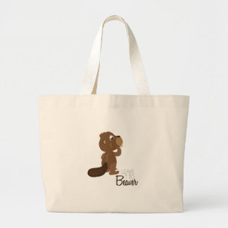 Leave It To Beaver Large Tote Bag