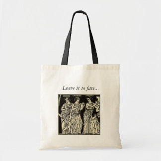 Leave it to fate... tote bag