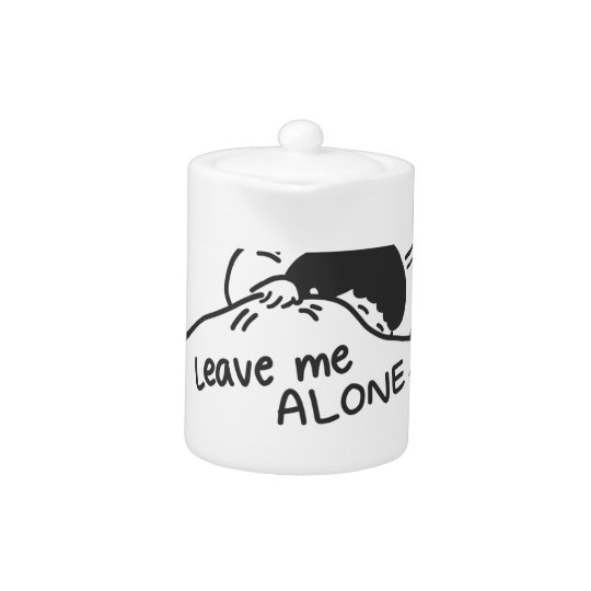 LEAVE ME ALONE, cute doodle
