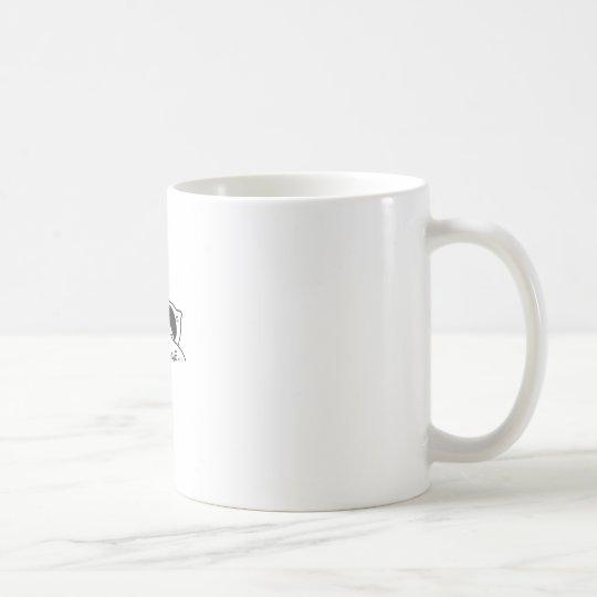 LEAVE ME ALONE, cute doodle Coffee Mug