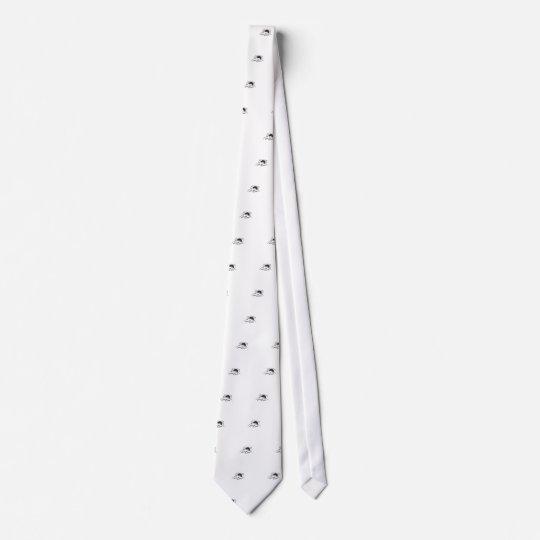 LEAVE ME ALONE, cute doodle Tie