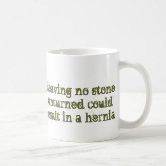 Leave No Stone Unturned Mug