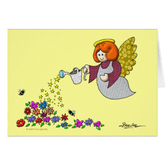 Leave Room In Your Garden For The Angels To Dance Card