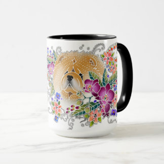 Leave space in the garden for your Chow to Dance Mug