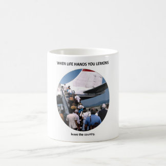leave-the-country classic white coffee mug