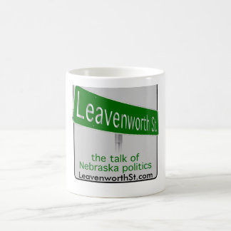 Leavenworth St. coffee mug