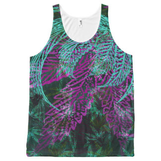Leaves3 All-Over-Print Tank Top