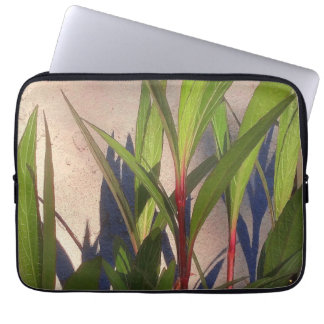 Leaves and Shadows Laptop Sleeve