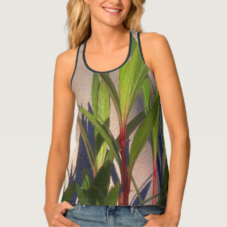 Leaves and Shadows Tank Top