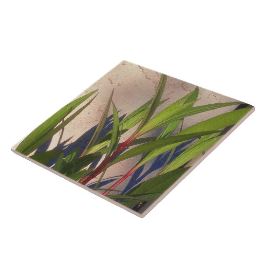 Leaves and Shadows Tile