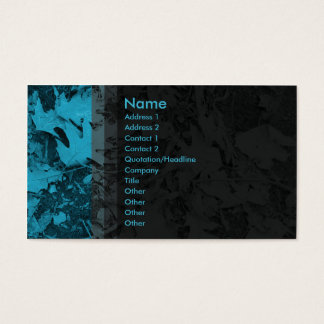 Leaves - Blue Business Card